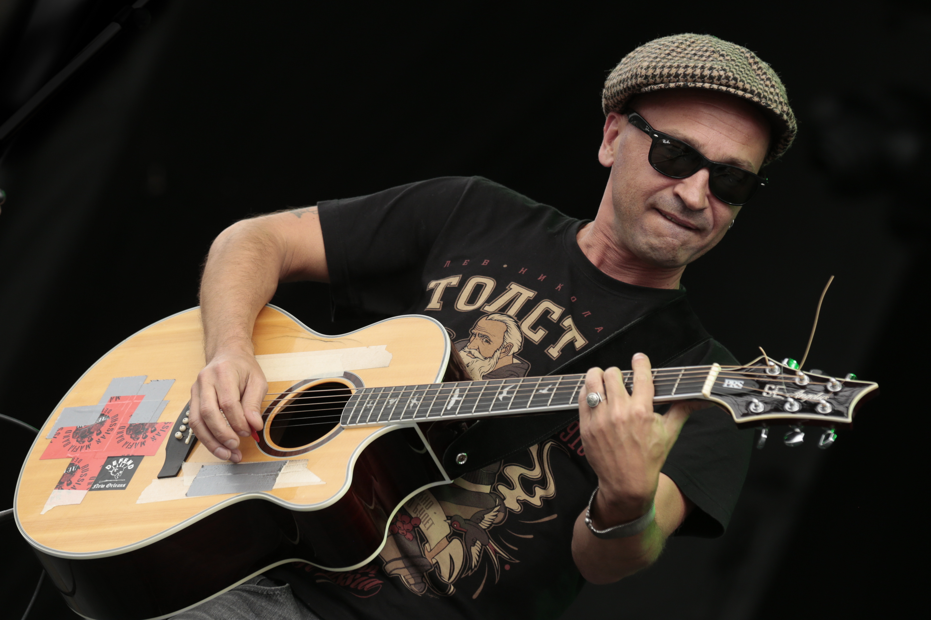 Debauche performs at the RBC Bluesfest in Ottawa on Sunday, July 10, 2016. ~ RBC Bluesfest Press Images PHOTO Mark Horton