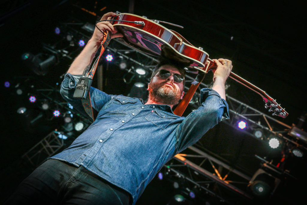 Colin Meloy of The Decemberists putting on a show at the RBC Bluesfest in Ottawa on Wednesday, July 13, 2016. ~ RBC Bluesfest Press Images PHOTO Mark Horton