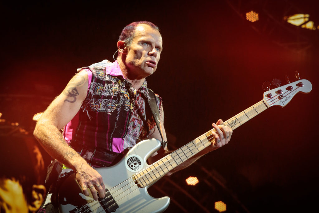The Red Hot Chili Peppers at Ottawa Bluesfest on Friday, July 15, 2016. RBC Bluesfest Press Images PHOTO Mark Horton