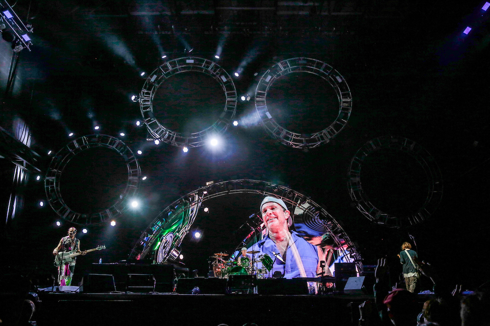 The Red Hot Chili Peppers perform at the RBC Bluesfest in Ottawa on Friday, July 15, 2016. The RBC Bluesfest is ranked by Billboard Magazine as one of North America's top ten festivals. ~ RBC Bluesfest Press Images PHOTO Mark Horton
