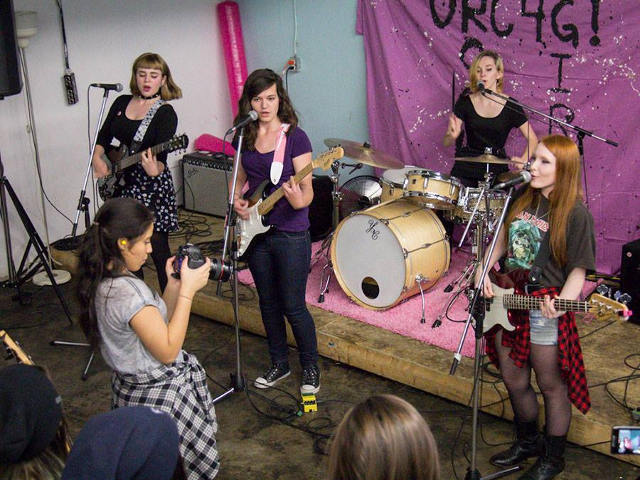 ORC4G empowers young women to learn and play music in the community. (Photo from Facebook)