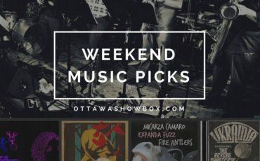Weekend music picks (5)