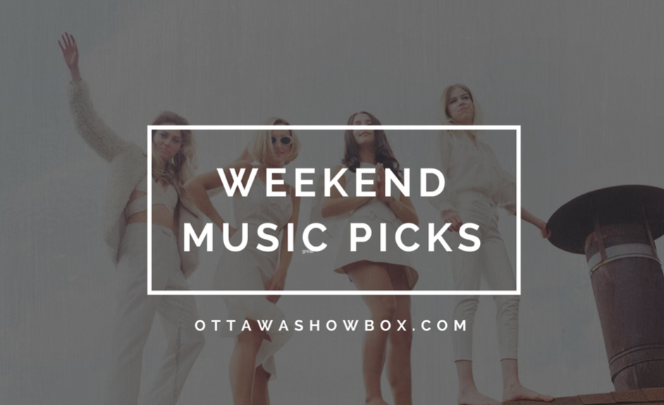 Weekend music picks (22)