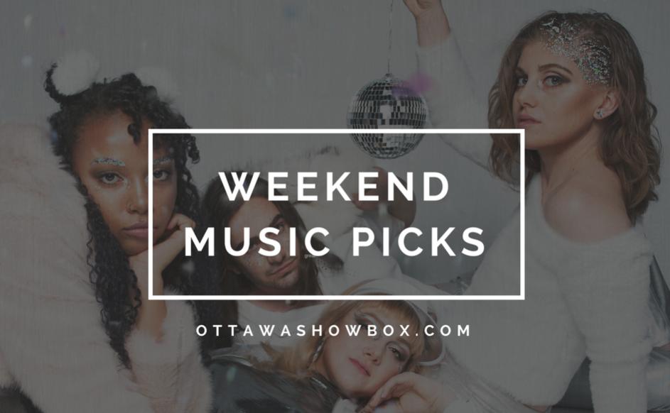 Weekend music picks (25)