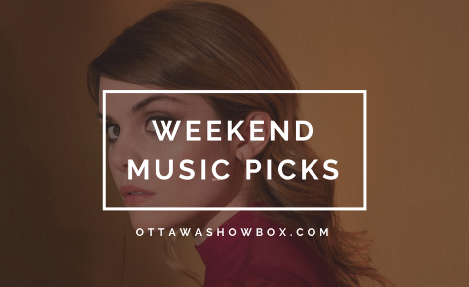 Weekend music picks